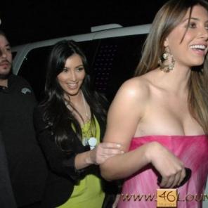 Kim Kardashian @46LOUNGE