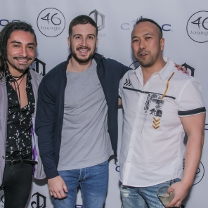 Vinny from The Jersey Shore @46LOUNGE